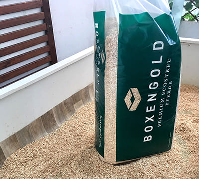 Litter of small animals Boxengold Premium Ecostreu review from Münster